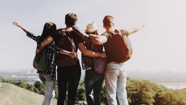 Com amigos a vida vale a pena